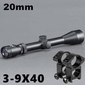 Bushnell Rifle Scopes Multiple Models, Color - 3-9X40 with 20mm Hunt Gear Store