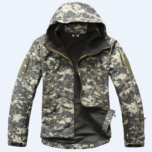 Tactical Sets Men's Camouflage Hunting Clothes Military Suit Jacket Or Pants, Color - ACU Hunt Gear Store