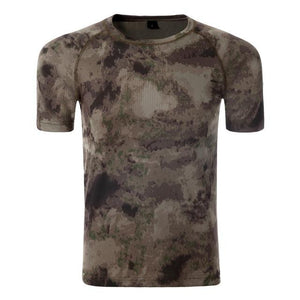 T Shirt Hunting Dry Sport 5 Camouflages, Color - AU