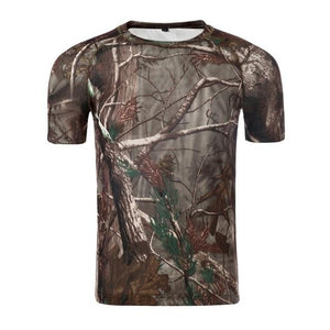 T Shirt Hunting Dry Sport 5 Camouflages, Color - Bionic