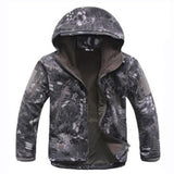 Tactical Sets Men's Camouflage Hunting Clothes Military Suit Jacket Or Pants, Color - Black Python