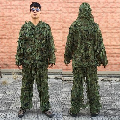 3D Leaf Army Camo Yowie Ghillie Suit, Color - CS-ST-J