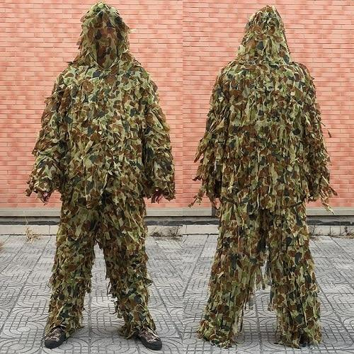 3D Leaf Army Camo Yowie Ghillie Suit, Color - CS-ST-Y