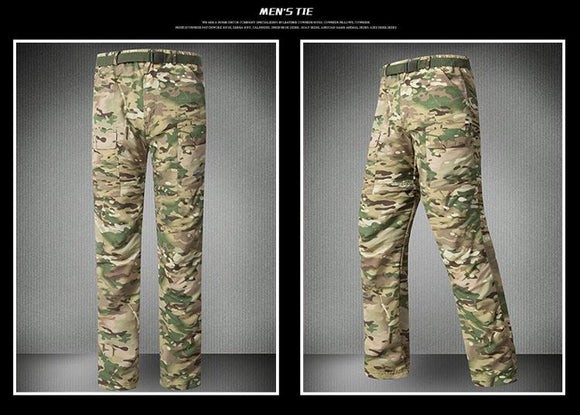 Hunt Gear Store Men Pants Quick Dry Camouflage , Color - Camo Green