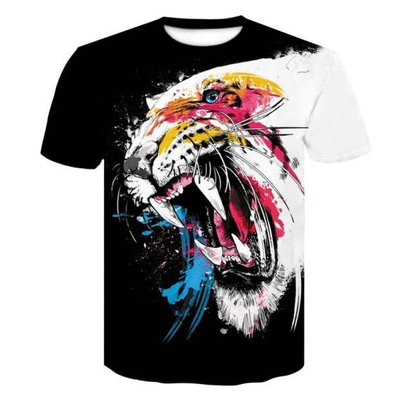 3D Men's T-Shirt HuntZing, Color - DT079