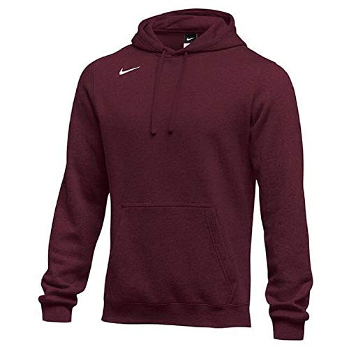 Nike Men's Pullover Fleece Club Hoodie Nike Shoes