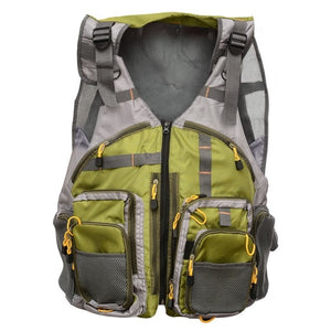 Fly Fishing Mesh Vest Breathable Adjustable Size