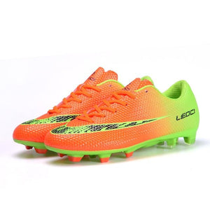 GJ Sports Store Cleats Soccer Shoes, Color - Green Hunt Gear Store