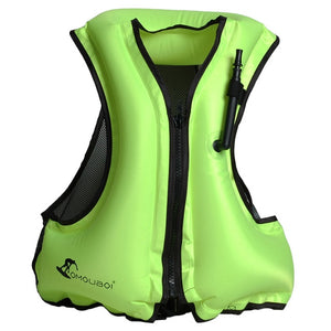 Life Jacket Adult Inflatable Four Colors Hunt Gear Store