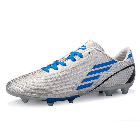 Soccer Shoes for Sale Kids Cleats Outdoor, Color - Silver Hunt Gear Store