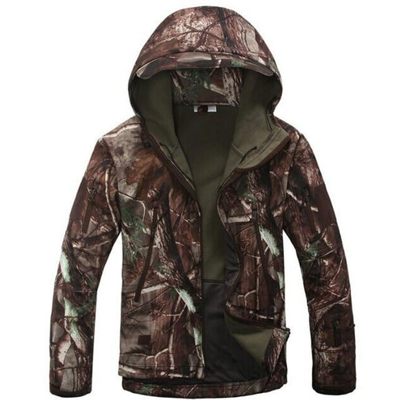 Tactical Sets Men's Camouflage Hunting Clothes Military Suit Jacket Or Pants, Color - Tree Camouflage