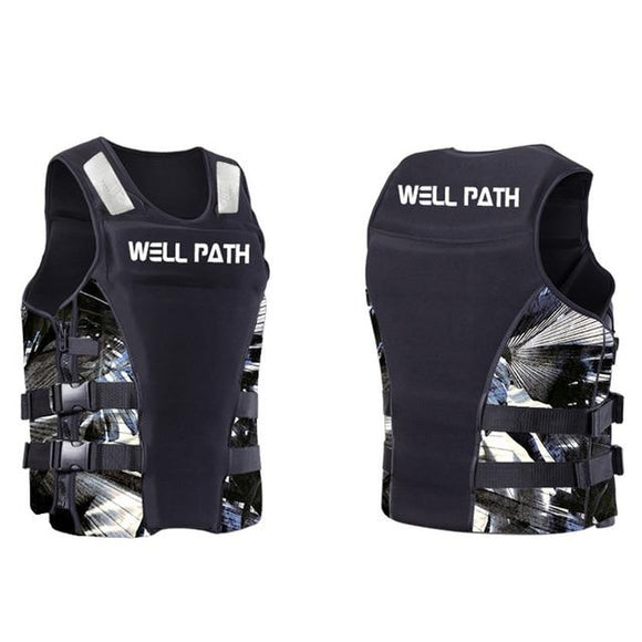 Well Path Life Vest Life Jacket Three Colors, Color - black