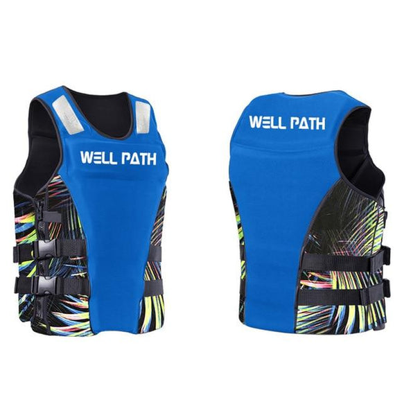 Well Path Life Vest Life Jacket Three Colors, Color - blue