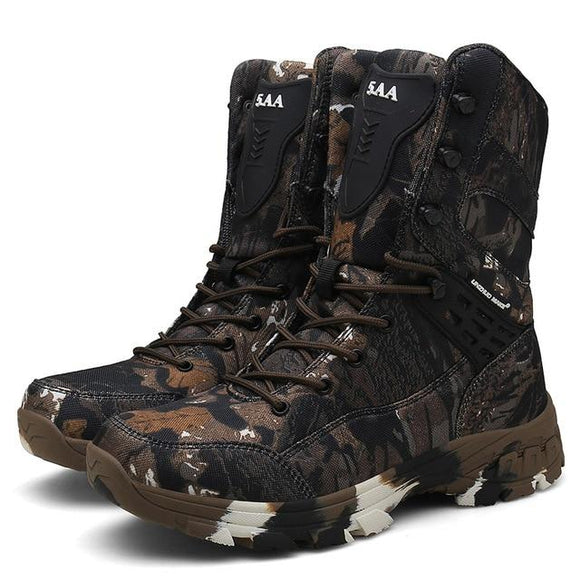 Boots Desert Camouflage Hunting Series, Color - brown Hunt Gear Store