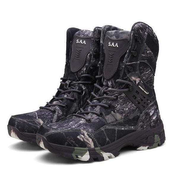 Boots Desert Camouflage Hunting Series, Color - gray Hunt Gear Store