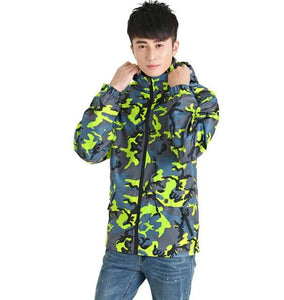 Camouflage Waterproof Jacket Women & Man , Color - man  01