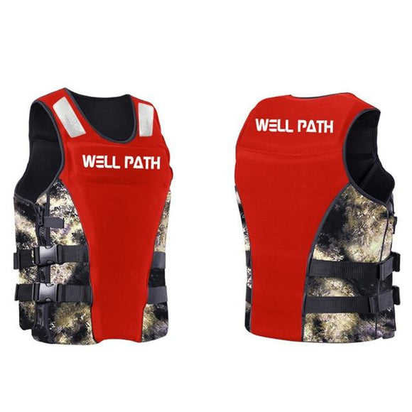 Well Path Life Vest Life Jacket Three Colors, Color - red