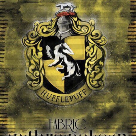 Hufflepuff Shield Adult Panel