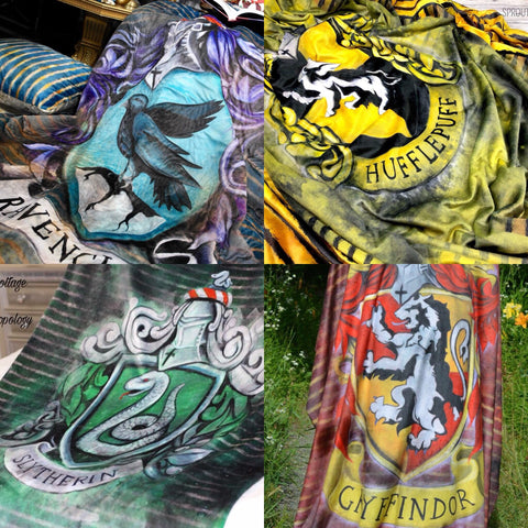Potter House Crest Blanket TOPPERS only (2 sizes)