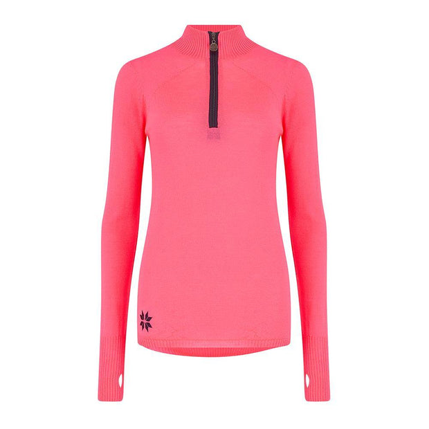 Womens Baselayer - Neon Pink