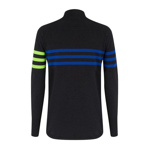 Mens Midlayer Murren Stripe - Snow Finel