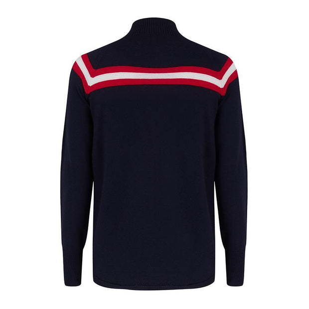 Mens Midlayer Classic Navy Stripe