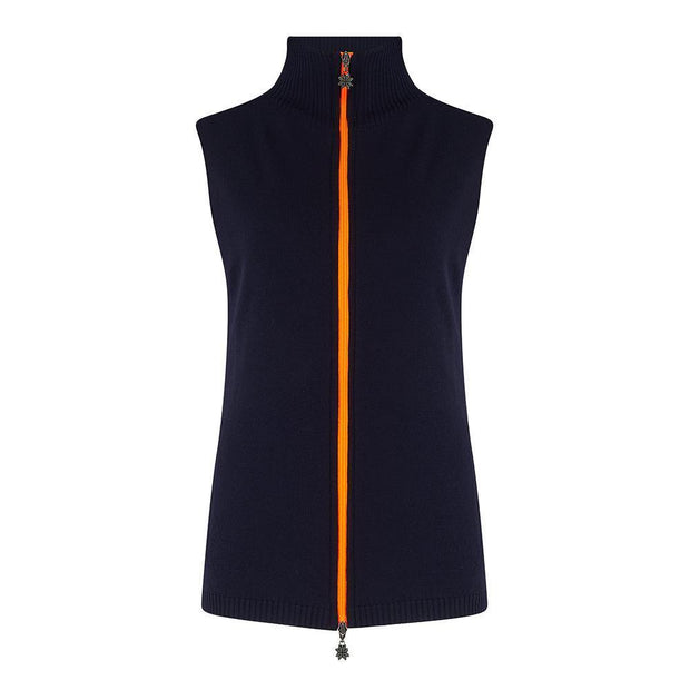Womens Gilet Navy