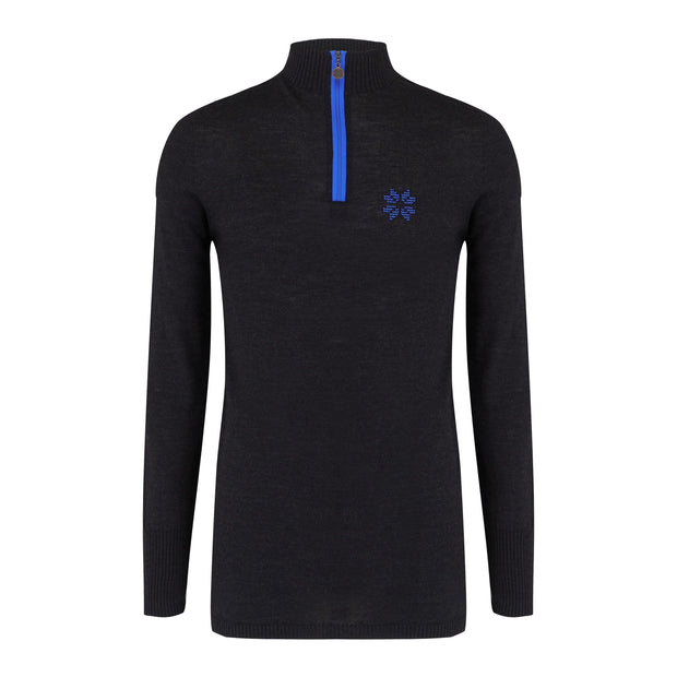 Mens Baselayer Navy - Snow Finel