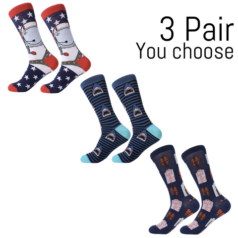 Well Box - 3 Pairs - Prime Drawer Socks