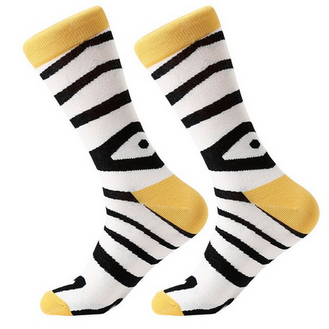 Zebra - Prime Drawer Socks