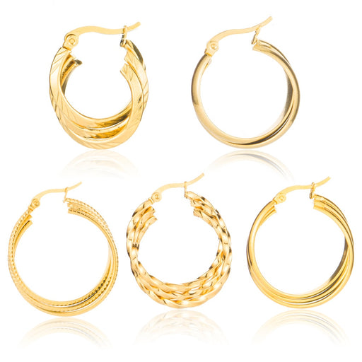 Celestial Hoop Earrings (New Collection)