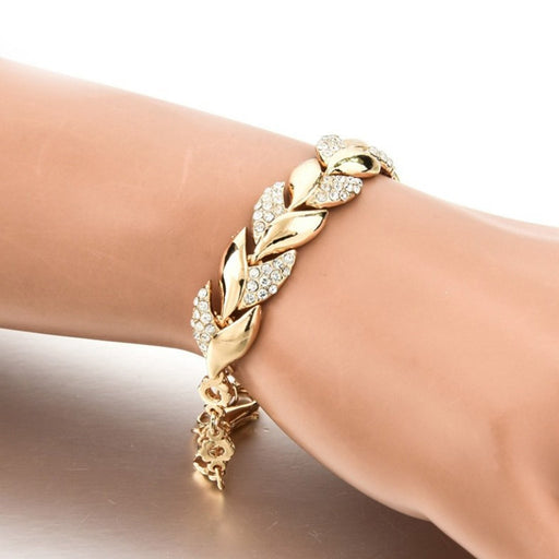 Azzi Leaf Bracelet (New Collection)