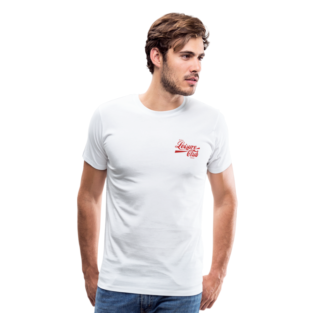 Men's red Logo T-Shirt - white