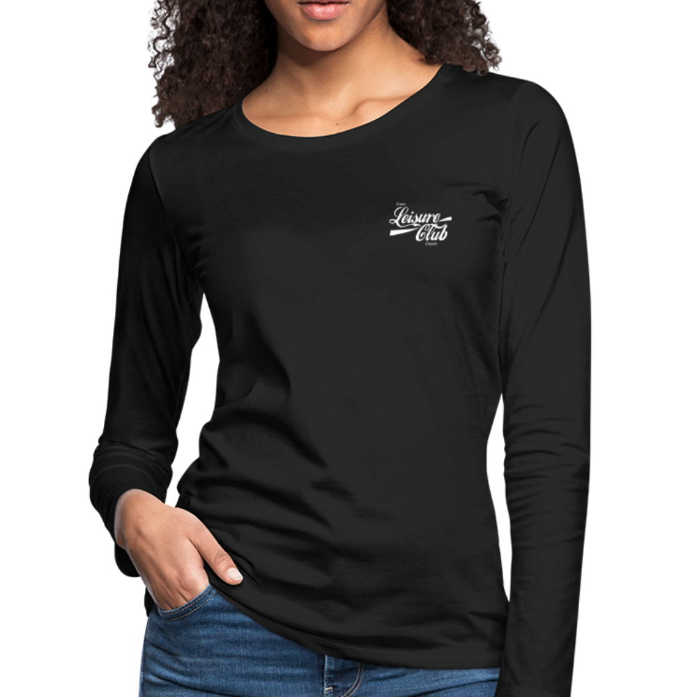 Women's Long Sleeve T-Shirt - black