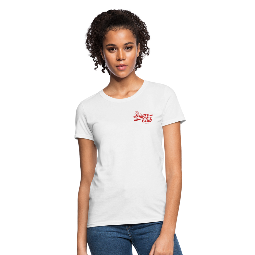 Women's Red Logo T-Shirt - white