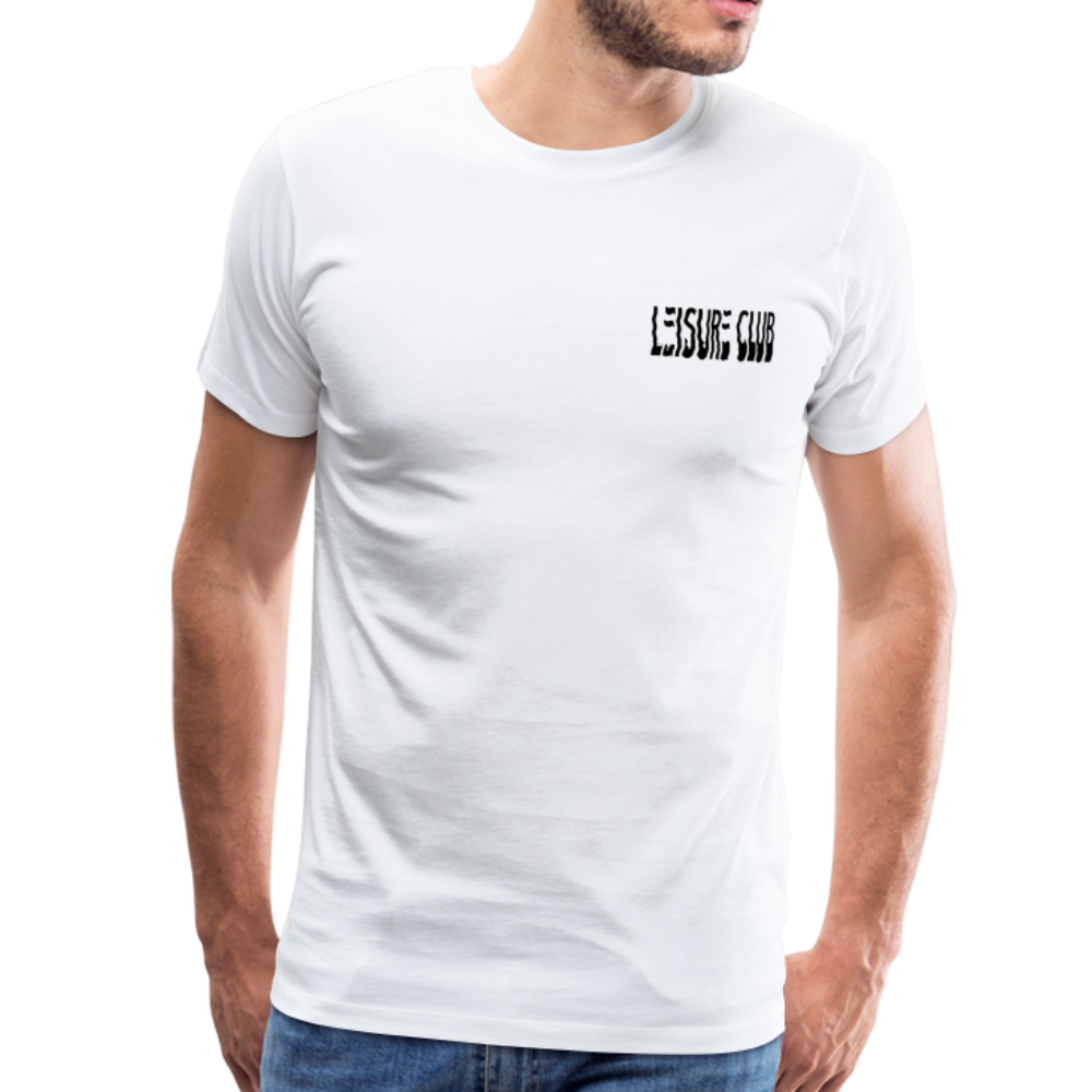 Small Leisure Club Logo T-Shirt - white