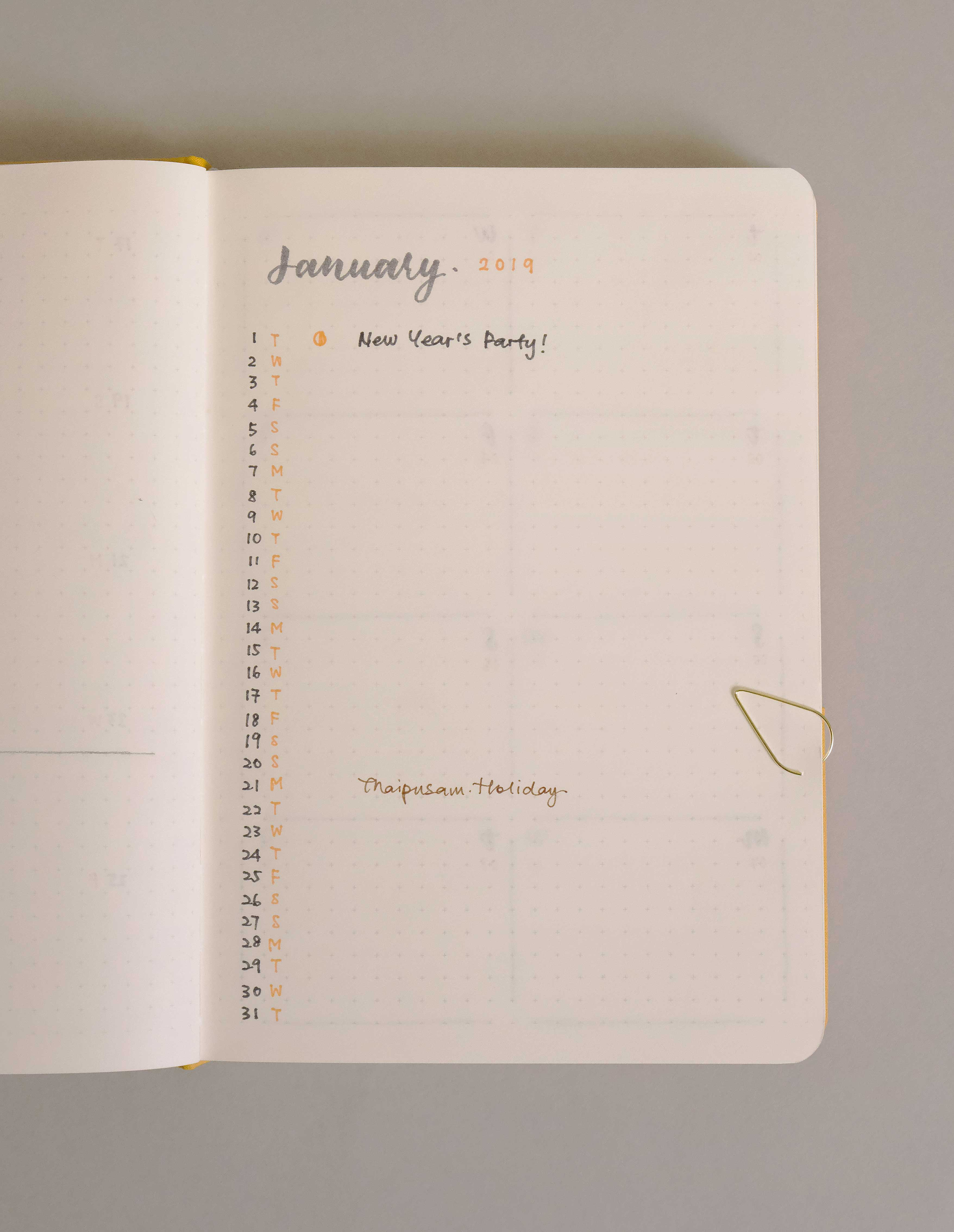 How To Start Your Year Right With Bullet Journal