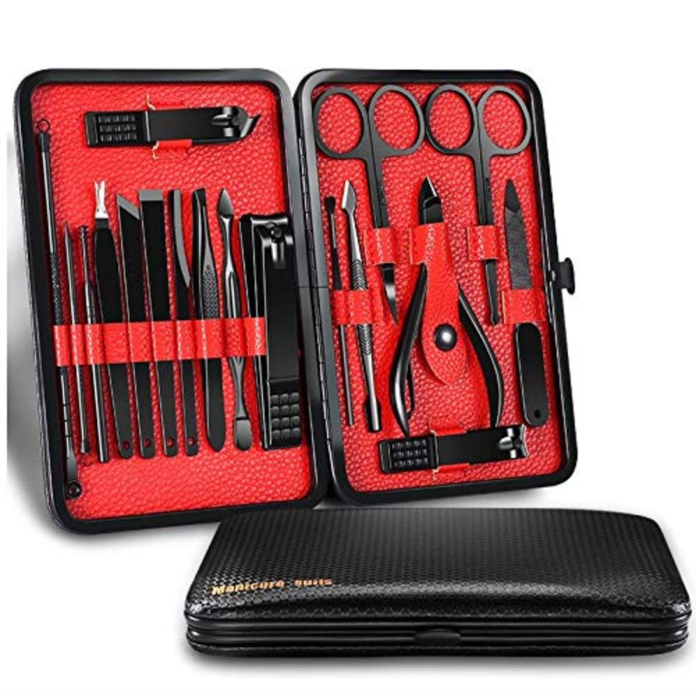 18-in-1 Stainless Steel Manicure Set