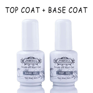 Perfect Summer Gel Polish Top Coat & Base Coat