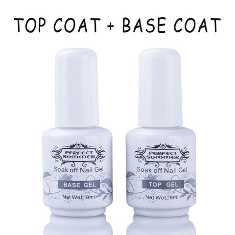 Image of Perfect Summer Gel Polish Top Coat & Base Coat
