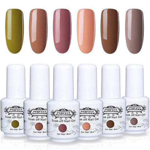 Image of Perfect Summer Gel Polish 6 pcs