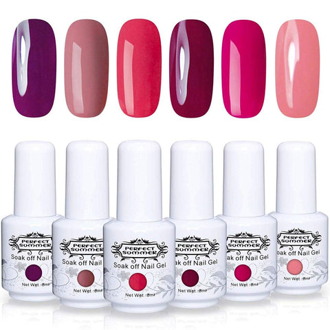 Perfect Summer Gel Polish 6 pcs