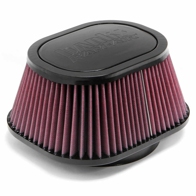 Air Filter Element Oiled For Use W/Ram-Air Cold-Air Intake Systems 99-14 Chevy/GMC-Diesel/Gas Banks Power