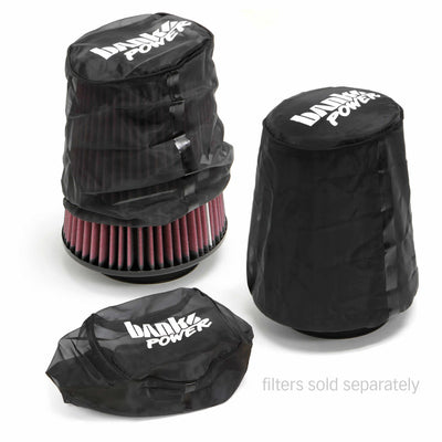 Pre-Filter Filter Wrap For Use W/Ram-Air Cold-Air Intake Systems Air Filter PNs 41835/41506 Banks Power