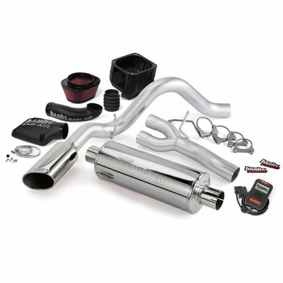 Stinger Bundle Power System 06 Chevy 6.0L 2500HD CCSB Banks Power
