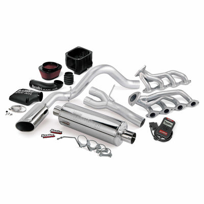 PowerPack Bundle Complete Power System W/AutoMind Programmer Chrome Tailpipe 07-08 Chevy 4.8-6.0L Non-Air Injected SCSB/ECSB/CCSB Banks Power