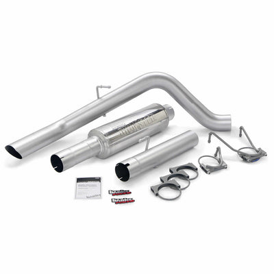 Monster Sport Exhaust System 03-04 Dodge 5.9L W/4 inch Catalytic Converter Outlet Banks Power
