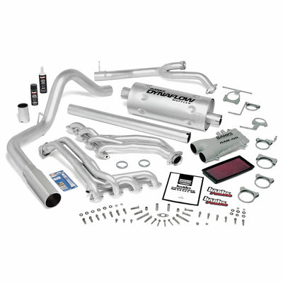 PowerPack Bundle Complete Power System Chrome Tip 93-97 Ford 460 E4OD Standard Cab Automatic Transmission Banks Power
