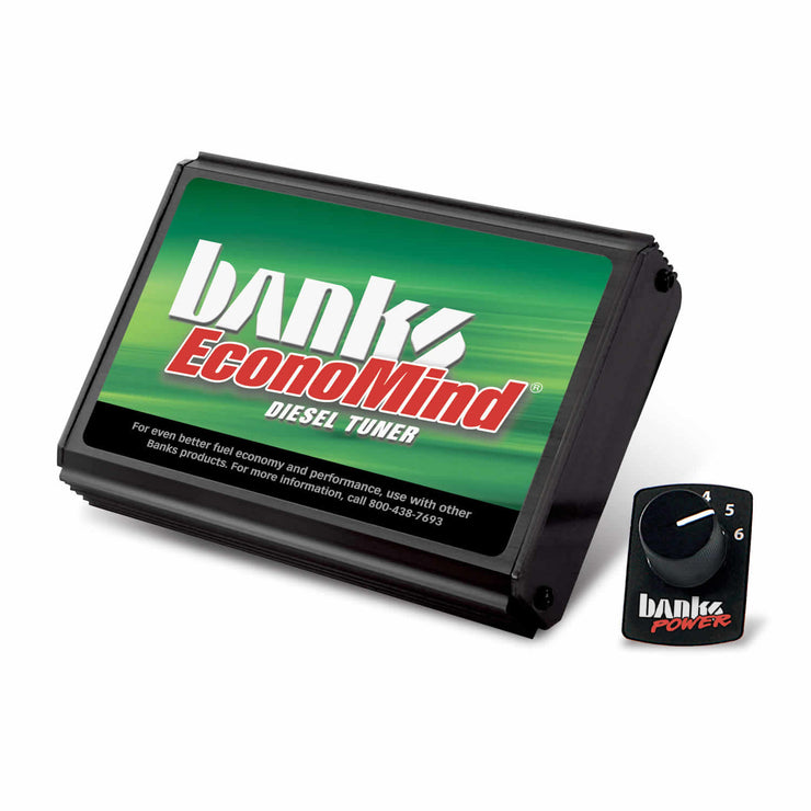 EconoMind Diesel Tuner (PowerPack Calibration) W/Switch 06-07 Chevy 6.6L LLY-LBZ Banks Power