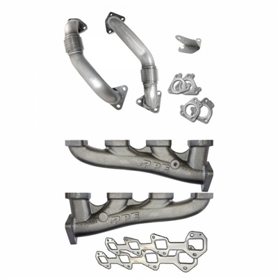 PPE 116111101 HIGH-FLOW RACE EXHAUST MANIFOLDS WITH UP-PIPES